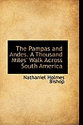 The Pampas and Andes. a Thousand Miles' Walk Across South America