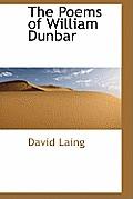 The Poems of William Dunbar