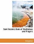 Saint Anselm's Book of Meditations and Prayers