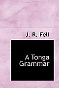 A Tonga Grammar