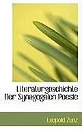 Literaturgeschichte Der Synagogalen Poesie