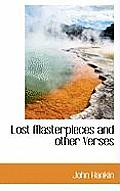 Lost Masterpieces and Other Verses