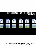 Distinguished Persons in Russian Society