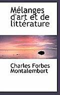M Langes D'Art Et de Litt Rature