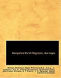 Hampshire Parish Registers. Marriages