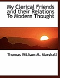 My Clerical Friends and Their Relations to Modern Thought