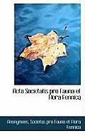 ACTA Societatis Pro Fauna Et Flora Fennica