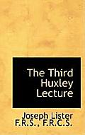 The Third Huxley Lecture