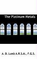 The Platinum Metals