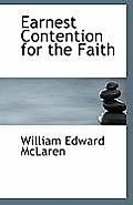 Earnest Contention for the Faith