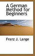 A German Method for Beginners