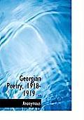 Georgian Poetry, 1918-1919 ..