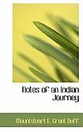 Notes of an Indian Journey
