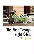 The First Twenty-Eight Odes.