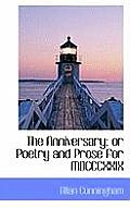 The Anniversary; Or Poetry and Prose for MDCCCXXIX