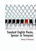 Standard English Poems, Spenser to Tennyson