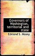 Governors of Washington, Territorial and State