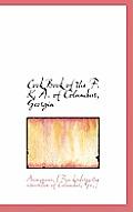 Cook Book of the F. K. A. of Columbus, Georgia