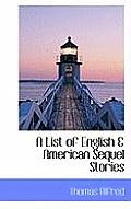 A List of English & American Sequel Stories