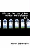 Life and Letters of REV. William Pennefather, B.A.