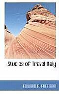 Studies of Travel Italy