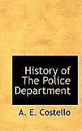 History of the Police Department