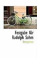 Festgabe Fur Rudolph Sohm