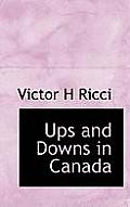 Ups and Downs in Canada