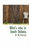 Who's Who in South Dakota