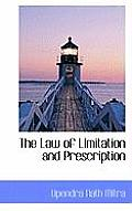 The Law of Limitation and Prescription