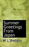 Summer Greetings from Japan