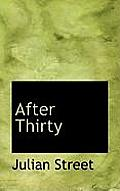 After Thirty