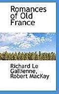 Romances of Old France