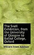 The Snell Exhibition, from the University of Glasgow to Balliol College, Oxford