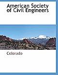 American Society Of Civil Engineers by Colorado Colorado