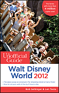 Unofficial Guide Walt Disney World 2012