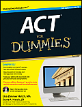 ACT for Dummies, with CD (For Dummies) Cover