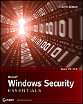 Microsoft Windows Security Essentials Cover