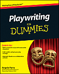Playwriting for Dummies (For Dummies) Cover