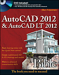 AutoCAD 2012and AutoCAD LT 2012 Bible (Bible) Cover