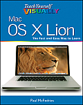 Teach Yourself Visually Mac OS X Lion (Teach Yourself Visually) Cover