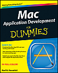 Mac Application Development for Dummies Cover