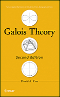 Pure and Applied Mathematics: A Wiley Series of Texts, Monog #106: Galois Theory