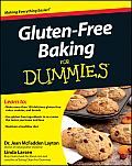 Gluten-Free Baking for Dummies (For Dummies) Cover