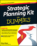 Strategic Planning Kit for Dummies [With CDROM] (For Dummies) Cover