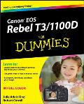 Canon EOS Rebel T3/1100D for Dummies (For Dummies)