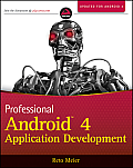 Professional Android 4 Application Development (Wrox Professional Guides) Cover