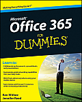 Office 365 for Dummies Cover
