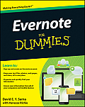 Evernote for Dummies (For Dummies) Cover