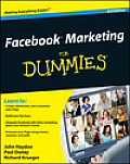 Facebook Marketing for Dummies (For Dummies) Cover